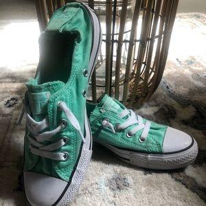 Converse slip sneakers